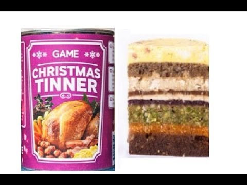 Christmas Dinner In A Tin.Christmas Dinner In A Tin Link Below Full Review