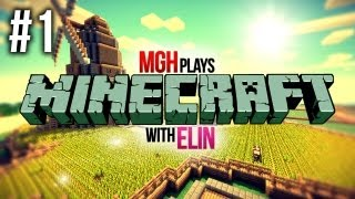 Mgh Plays: Minecraft with Elin! - Survival Games - Episode #1