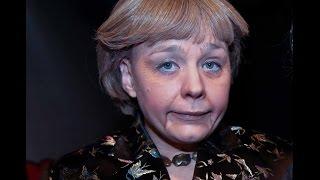 """Kanzlerin Angela Merkel Parodie singt """"16 Jahr´ hat der Kohl regiert""""  & """" Muttis Augen"""""""