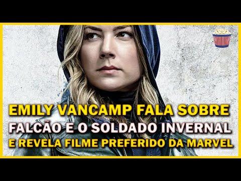 Emily VanCamp revela seu filme e seus heróis favoritos da Marvel! #FalcãoEOSoldadoInvernal