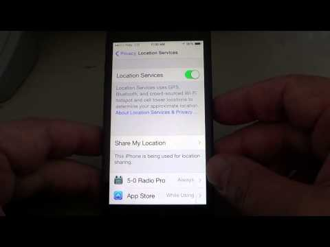 Iphone Privacy how to turn off frequent locations in IOS 8