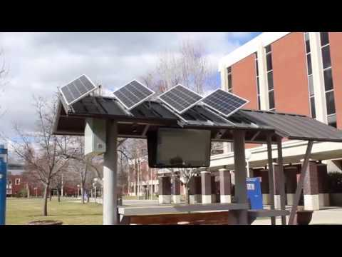 Boise State's New Solar Charging Station