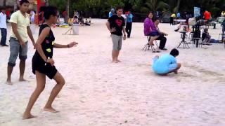 Bunker HOPE at Beach 09-11-2013 Pitbull - Feel This Moment ft. Christina Aguilera