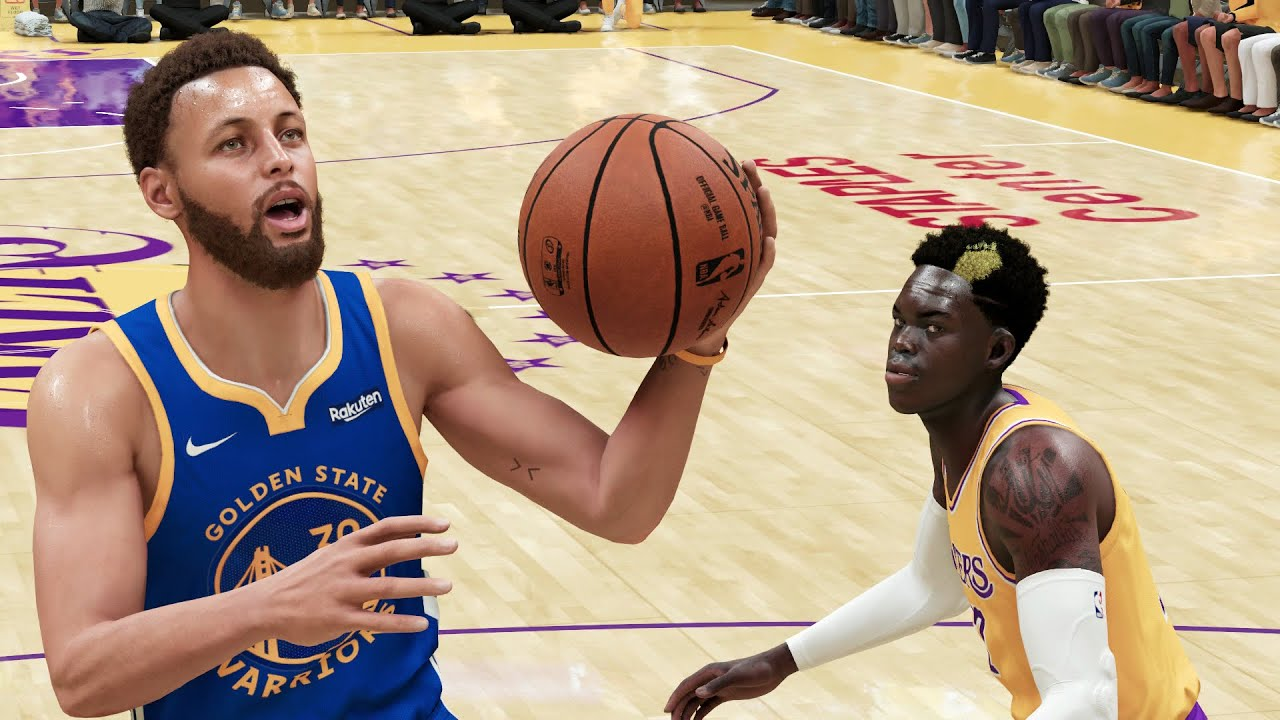 NBA 2K21 Next Gen Gameplay - Los Angeles Lakers vs Golden State Warriors NBA 2K21 Xbox Series X/PS5