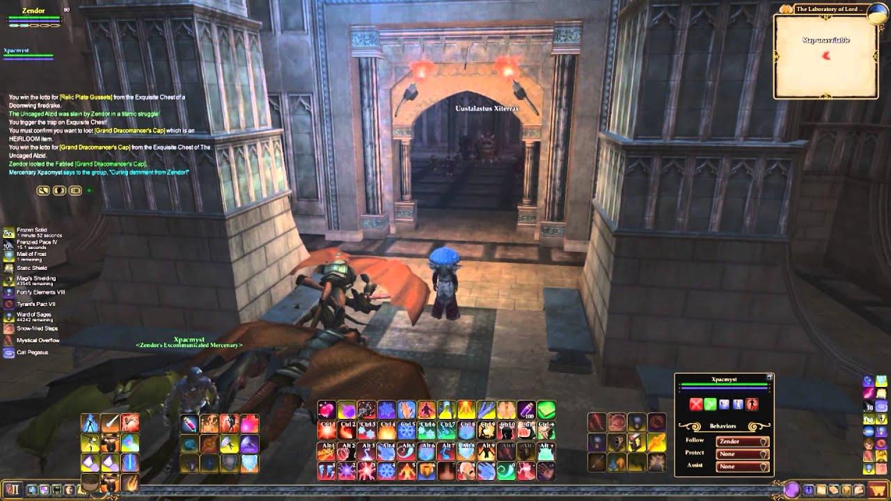 Everquest 2 solo raid The Laboratory of Lord Vyemm