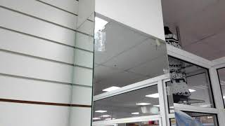 Зеркало изготовление доставка монтаж во Владивостоке. Зеркало в магазин Владивосток.  Гристек.