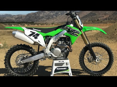 First Ride 2019 Kawasaki KX450 - Motocross Action Magazine