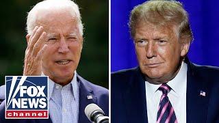 Eric Trump draws contrasts between Trump, Biden messaging