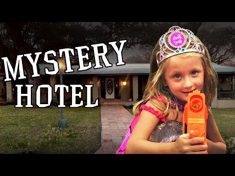 Barbie Superhero and The Kid Cops in the Case of the Hauted House - New From Kaylee Bug Tv