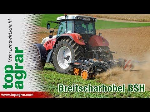 LagroTechnik Breitscharhobel BSH im top agrar-Test