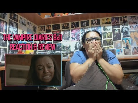 """The Vampire Diaries 8x11 REACTION & REVIEW """"You Made A Choice To Be Good"""" S08E11 