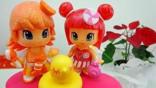 Мультики для девочек. Куклы Апельсинка, Конфетка и цветочек