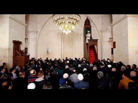 Diyanet İşleri Başkanı Görmez'den Mardin'de Cuma Hutbesi