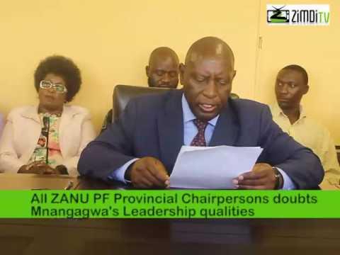 Energy Mutodi told to stop attacking President RG Mugabe