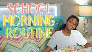 GRWM School Morning Routine | LexiVee03