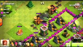 Bug-Tropas invisíveis clash of clans
