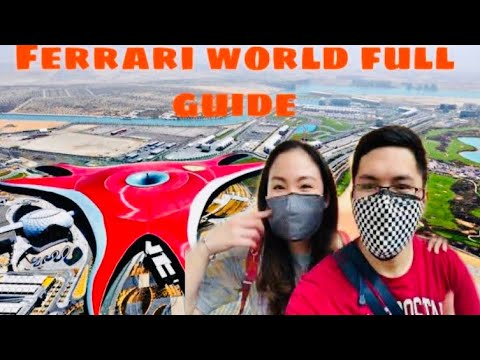 Ferrari world abu dhabi FULL GUIDE and expenses