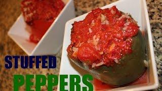 Vlog Healthy Gluten Free Stuffed Peppers Recipe