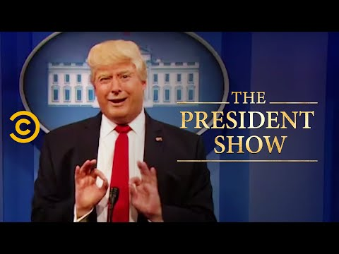 The Birthday Boy! - The President Show - Comedy Central
