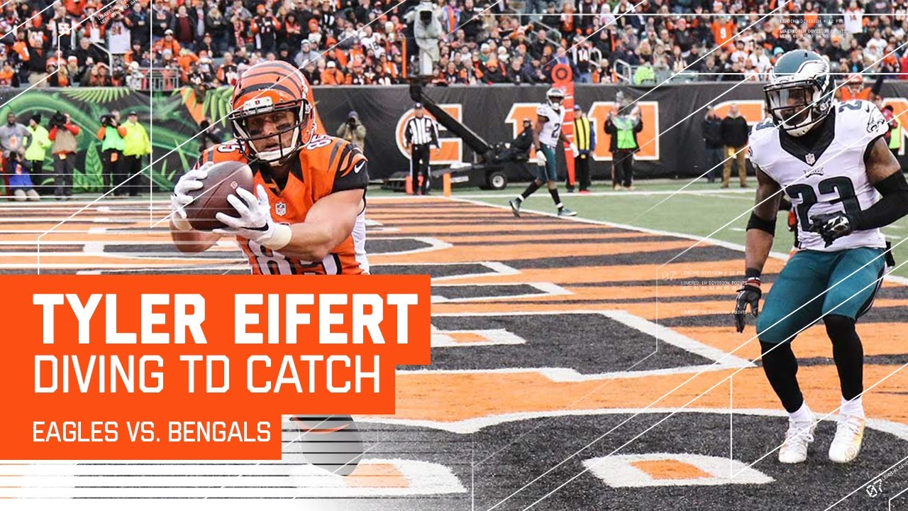 Bengals Big Drive Ends with Tyler Eifert's Diving TD Grab! | Eagles vs. Bengals | NFL