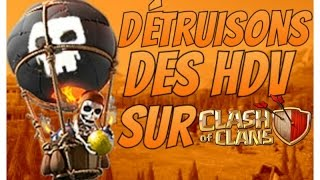 Clash of Clans | 2000 HDV détruits | Sniping intensif