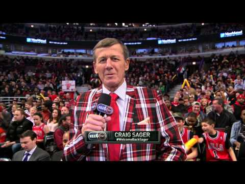 Chicago Welcomes Craig Sager Back to the Sidelines!