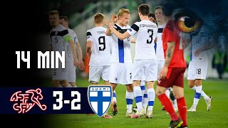 Full Highlights (14 min.) | Sveitsi-Suomi 3-2 I A-maaottelu | 31.3.2021