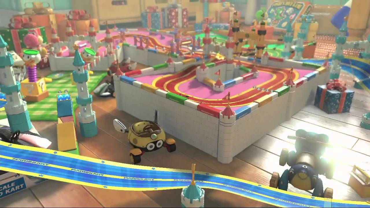 Image result for mario kart ribbon road