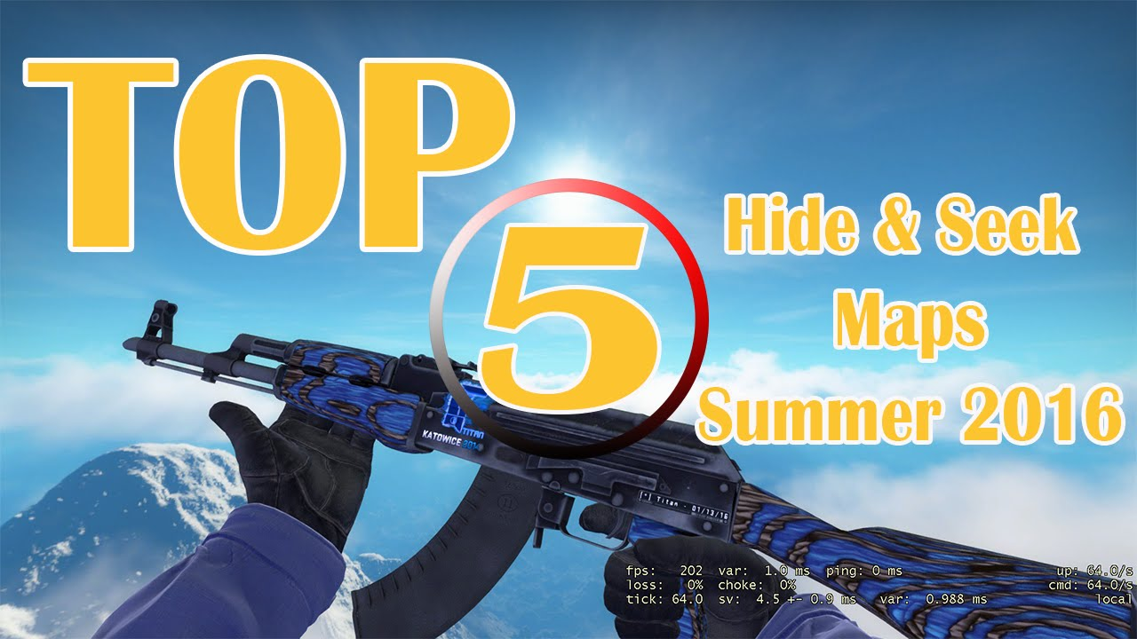 Csgo Top 5 Hide Seek Maps Summer 2016