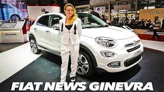 FIAT 500, 500X, Panda: Tutte le Novità al Salone di Ginevra 2015