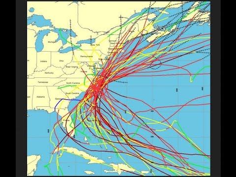 Fukushima Radioactive Pacific Ocean Behind Hurricanes Typhoons Cyclones