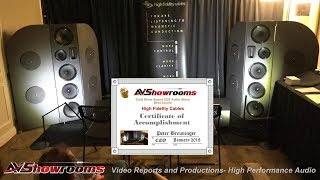 High Fidelity Cables, CES 2018 Best Sound Award Winner