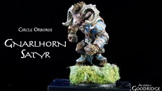 Painting Warmachine & Hordes: Gnarlhorn Satyr, and Clash for a Cure charity
