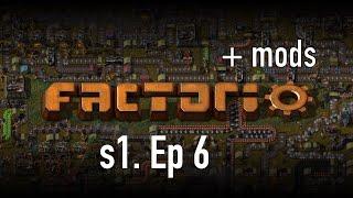 Factorio +моды - Серия №6 Приключения Электроника