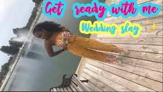 Get Ready With Me : Nails, Make Up, Hair and Outfit   Fall Haitian Wedding Edition 2018   Sdooot X