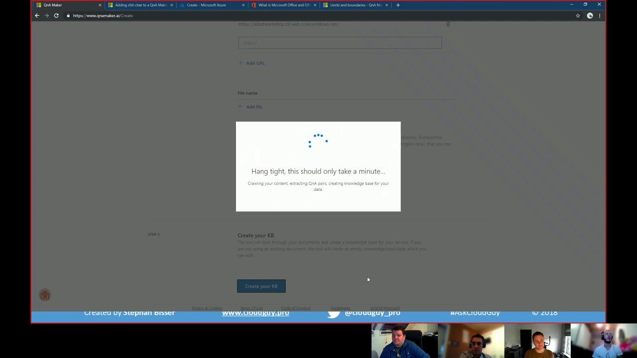 SelectedTech Webinar 1 - A No Code QnA Bot In Microsoft
