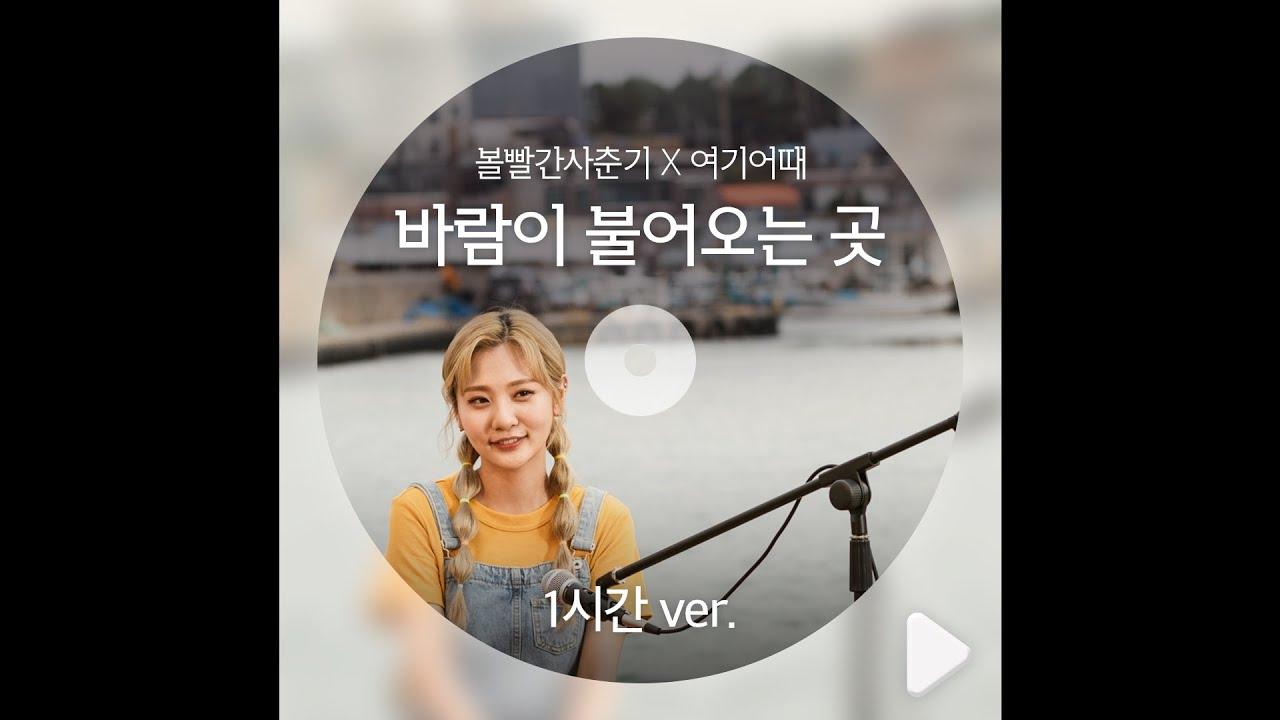 [플레이리스트] 바람이 불어오는 곳 -볼빨간사춘기(feat.여기어때)_1시간 Ver.