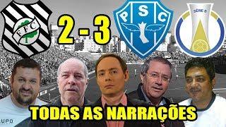 Todas as narrações - Figueirense 2 x 3 Paysandu / Brasileirão Série B 2018