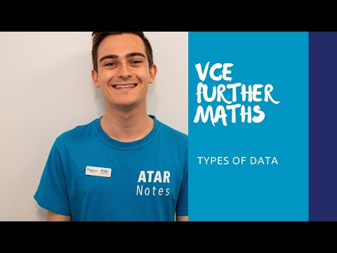VCE Physics | TuteSmart By ATAR Notes Revision Video Series | Types of Data