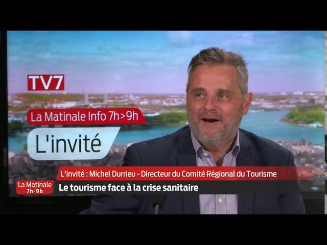 La Matinale | L'invité | Michel Durrieu, directeur du Comité Régional du Tourisme