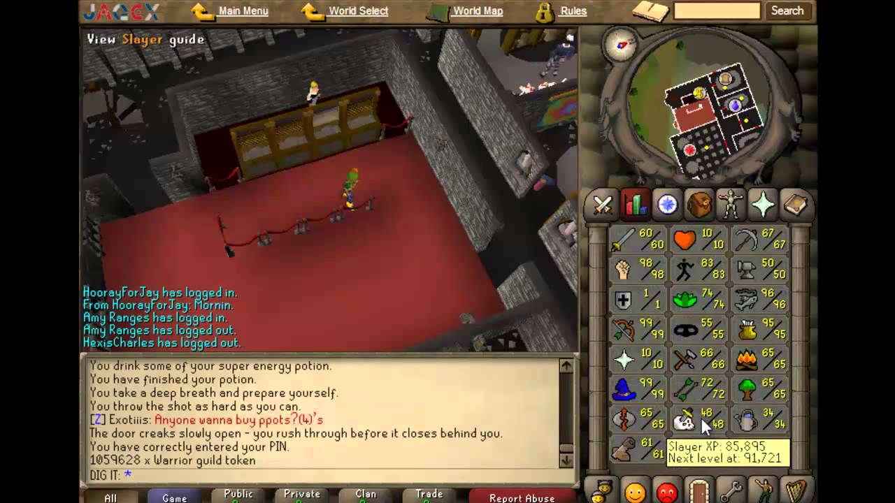 10 hp pure progress vid 30 osrs first 99 strength 10 for Runescape exp table 1 99