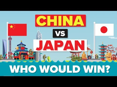 China vs Japan 2017 - Who Would Win - Army / Military Comparison
