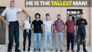 He Is The Tallest Man