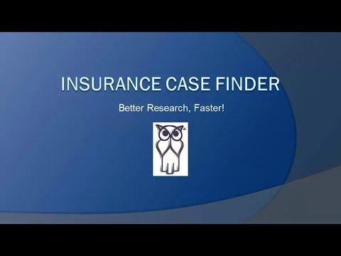 Insurance Case Finder Demo