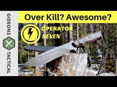 Over Kill Or Awesome? TOPS Knives Operator 7
