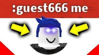GUEST 666 ADMIN COMMANDS TROLLING Roblox
