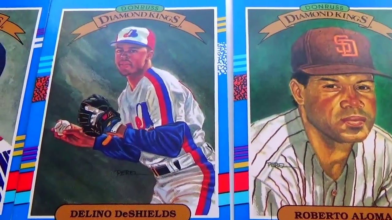 1990 Donruss Diamond Kings Baseball Cards