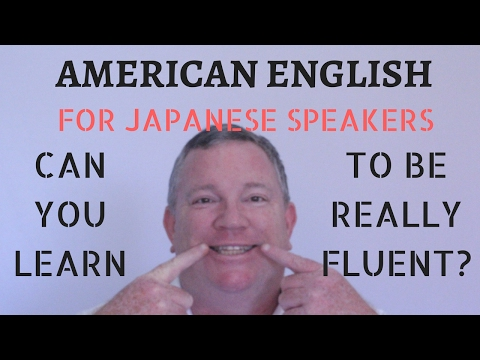 English For Japanese Students - American English Lessons For Japanese