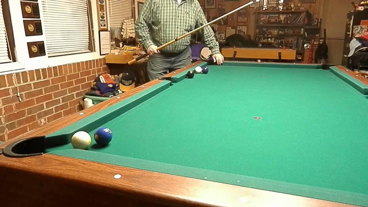 Trick Shots GRADY MATTHEWS TOPSPIN YouTube - Grady pool table