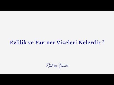 Evlilik ve Partner Vizeleri Hakkinda